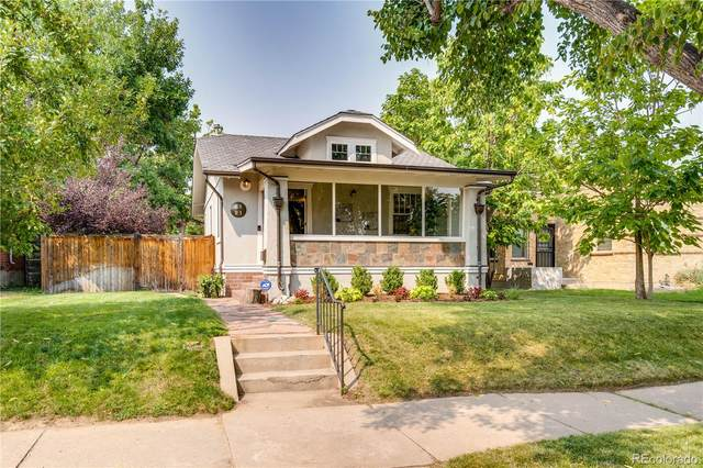 2121 S Emerson Street, Denver, CO 80210 (MLS #4408332) :: Keller Williams Realty