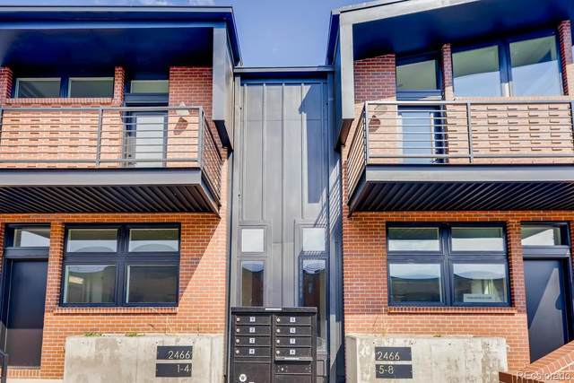 2478 S Delaware Street #8, Denver, CO 80223 (#4408687) :: Chateaux Realty Group