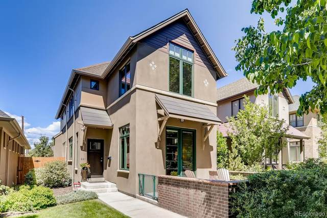221 S Pearl Street, Denver, CO 80209 (#4408750) :: Real Estate Professionals