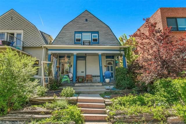 1349 N Ogden Street, Denver, CO 80218 (MLS #4409067) :: Wheelhouse Realty