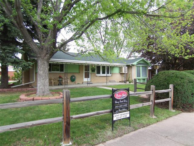 3955 W Evans Avenue, Denver, CO 80219 (#4409524) :: House Hunters Colorado