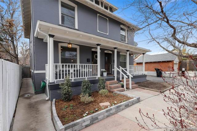 322 E 3rd Avenue, Denver, CO 80203 (#4410381) :: My Home Team