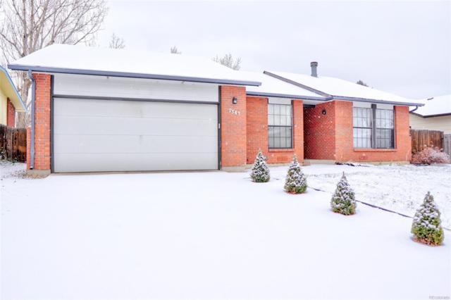 1343 Parker Drive, Longmont, CO 80501 (#4412389) :: Real Estate Professionals