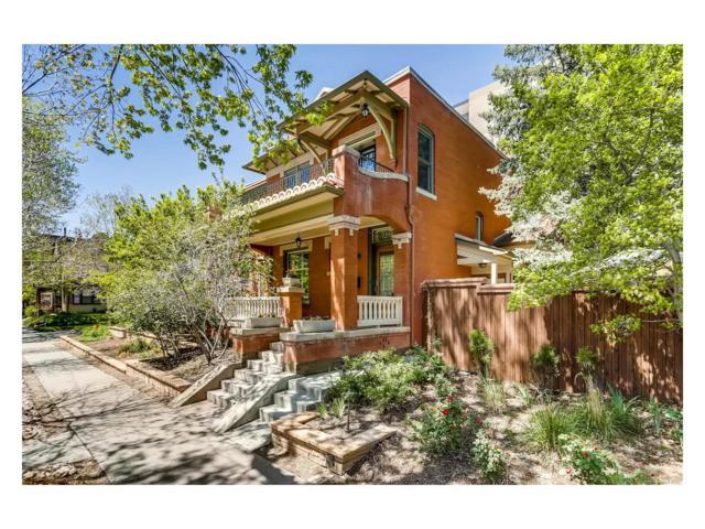 1219 E 10th Avenue, Denver, CO 80218 (#4413394) :: The Peak Properties Group