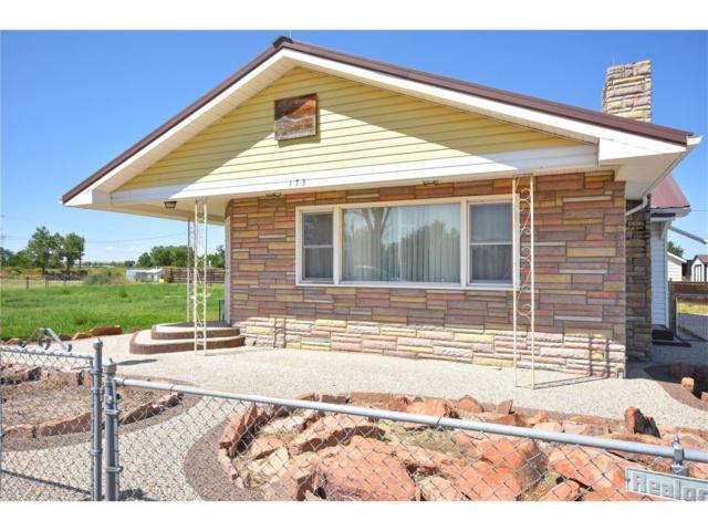 173 N Fetzer Street, Byers, CO 80103 (MLS #4415185) :: 8z Real Estate