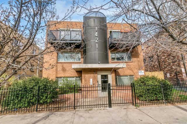 1421 Pearl Street, Denver, CO 80203 (#4415410) :: The Peak Properties Group