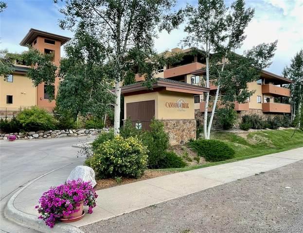 2780 Eagleridge Drive #203, Steamboat Springs, CO 80487 (MLS #4417914) :: Bliss Realty Group