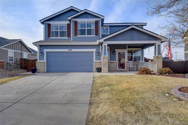 1489 N Monument Drive, Castle Rock, CO 80104 (#4418838) :: The HomeSmiths Team - Keller Williams