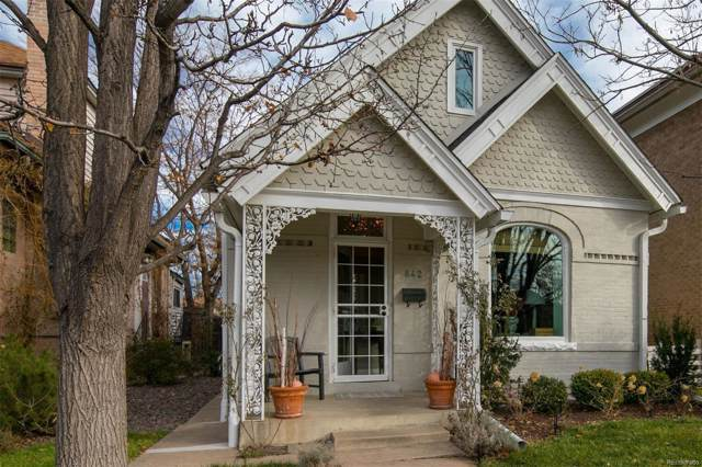 842 S Pearl Street, Denver, CO 80209 (#4419199) :: Bring Home Denver with Keller Williams Downtown Realty LLC