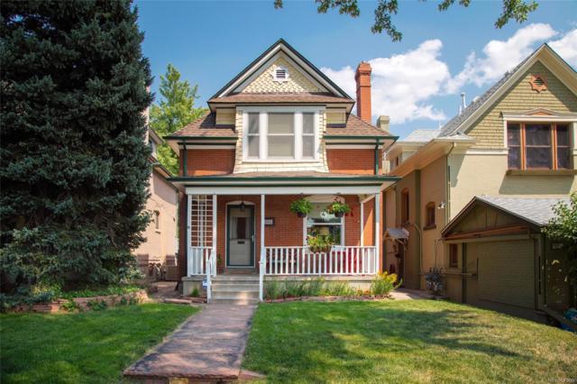 608 N Marion Street, Denver, CO 80218 (#4424931) :: Bring Home Denver