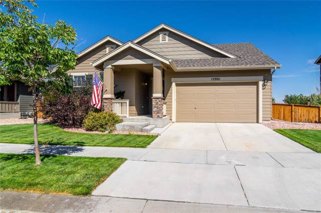 15901 Village Circle, Commerce City, CO 80603 (MLS #4432615) :: Kittle Real Estate