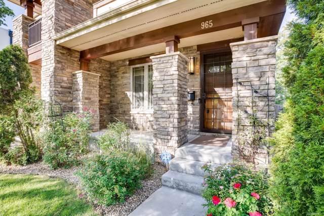 965 S Clarkson Street, Denver, CO 80209 (#4432663) :: The Peak Properties Group