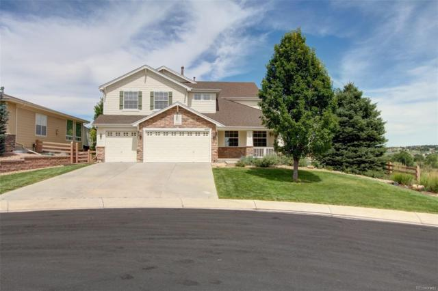 6033 Merchant Place, Parker, CO 80134 (#4437436) :: Hometrackr Denver
