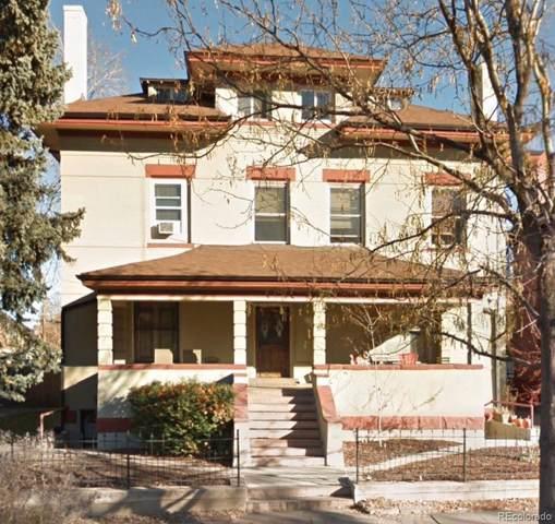 1450 N High Street #8, Denver, CO 80218 (MLS #4441060) :: Kittle Real Estate