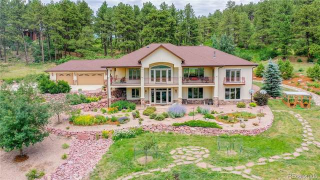 793 Spruce Road, Larkspur, CO 80118 (MLS #4442103) :: Clare Day with Keller Williams Advantage Realty LLC