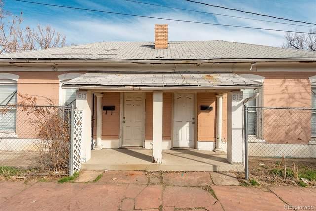 615 W 3rd Avenue, Denver, CO 80223 (MLS #4442307) :: 8z Real Estate