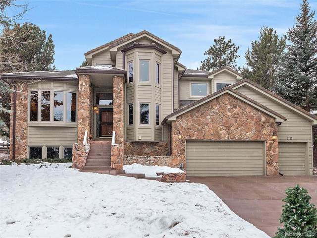 2143 Augusta Drive, Evergreen, CO 80439 (#4444616) :: Venterra Real Estate LLC