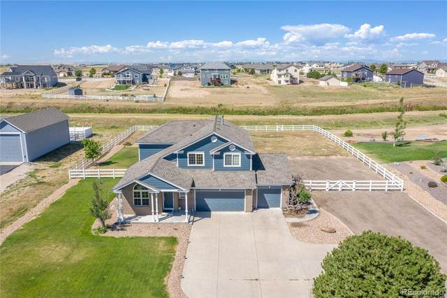 16341 Timber Cove Street, Hudson, CO 80642 (#4446332) :: The Brokerage Group
