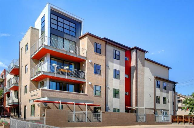 360 S Lafayette Street #401, Denver, CO 80209 (#4447378) :: The Healey Group