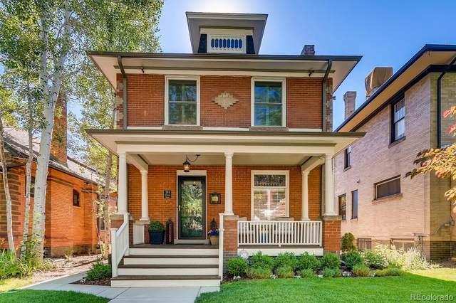384 S Corona Street, Denver, CO 80209 (MLS #4448009) :: 8z Real Estate
