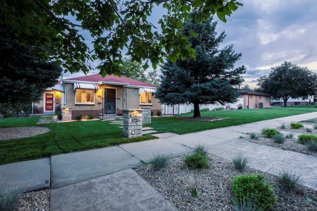 4724 W 32nd Avenue, Denver, CO 80212 (#4448793) :: Bring Home Denver