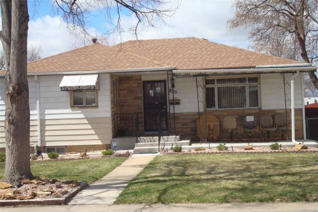 825 Elmira Street, Aurora, CO 80015 (#4453510) :: The Peak Properties Group