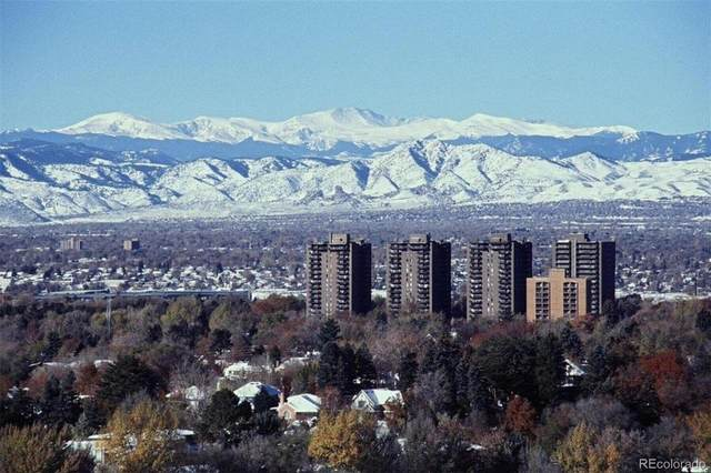 460 S Marion Parkway #1656, Denver, CO 80209 (#4455293) :: The Griffith Home Team