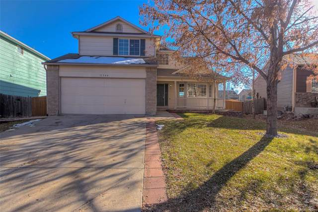 11344 E 116th Avenue, Commerce City, CO 80640 (#4456350) :: The Healey Group