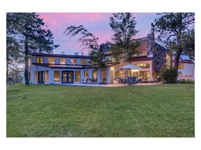 591 Sundown Lane, Evergreen, CO 80439 (MLS #4456552) :: 8z Real Estate