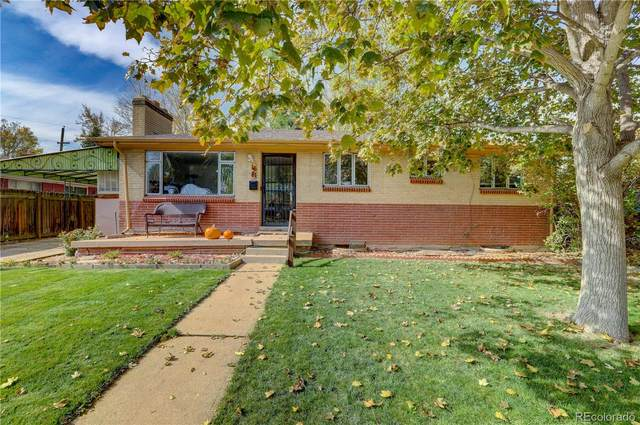 1681 S Ames Street, Lakewood, CO 80232 (#4458167) :: Real Estate Professionals
