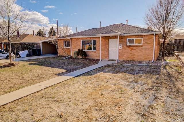 9301 Rose Court, Thornton, CO 80229 (#4459605) :: The Gilbert Group