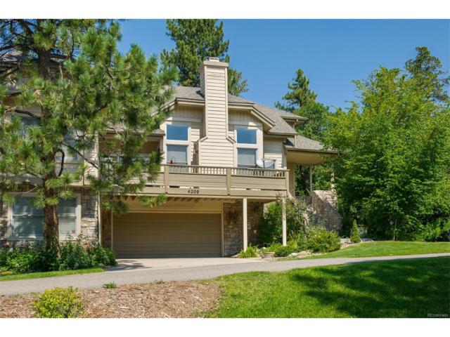 4209 Morning Star Drive, Castle Rock, CO 80108 (#4462401) :: RE/MAX Professionals
