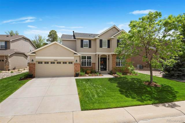 7068 Welford Place, Castle Pines, CO 80108 (#4462813) :: The Griffith Home Team