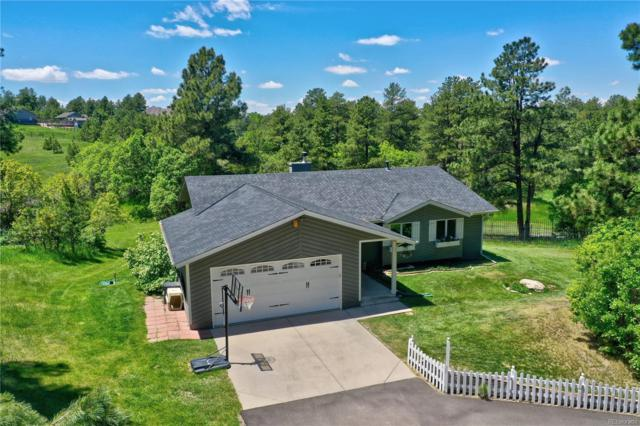 667 N White Tail Drive, Franktown, CO 80116 (#4462888) :: The HomeSmiths Team - Keller Williams