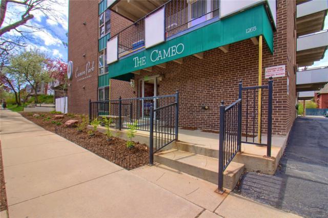 1265 Elizabeth Street #407, Denver, CO 80206 (#4462940) :: The Peak Properties Group