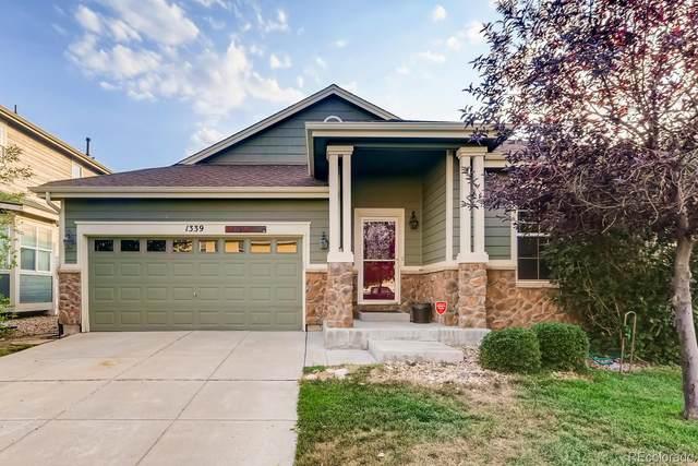1339 S Coolidge Circle, Aurora, CO 80018 (#4467473) :: Compass Colorado Realty
