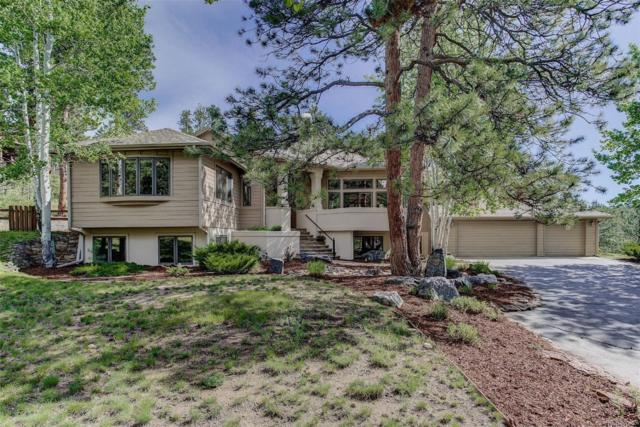 2251 Baldy Lane, Evergreen, CO 80439 (#4470472) :: Mile High Luxury Real Estate