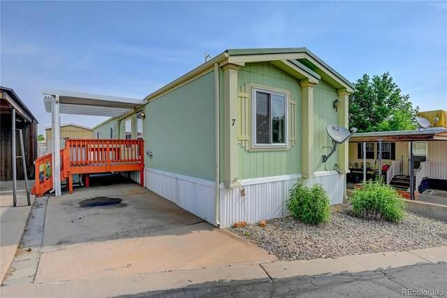 7 Darren Street, Castle Rock, CO 80109 (#4474164) :: Compass Colorado Realty