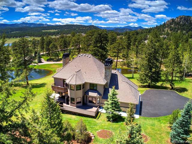 7176 Timbers Drive, Evergreen, CO 80439 (#4474698) :: The Healey Group