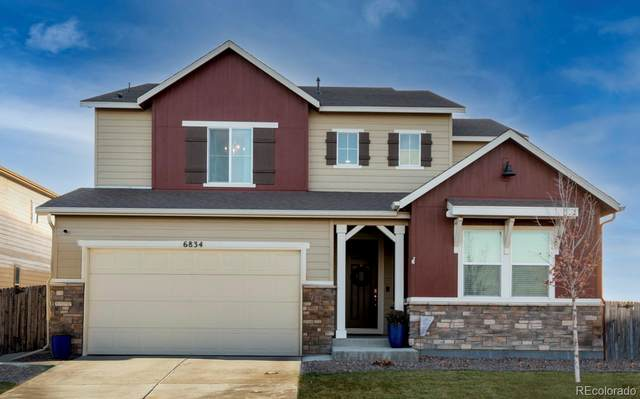 6834 E 133rd Place, Thornton, CO 80602 (MLS #4477977) :: Kittle Real Estate