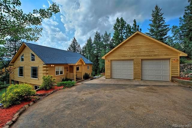34920 Whispering Pines Trail, Pine, CO 80470 (#4481055) :: Kimberly Austin Properties