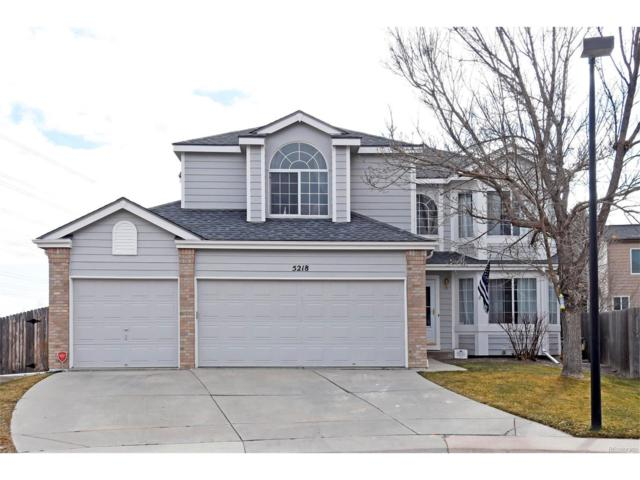 5218 E Crestone Avenue, Castle Rock, CO 80104 (#4485612) :: The Dixon Group