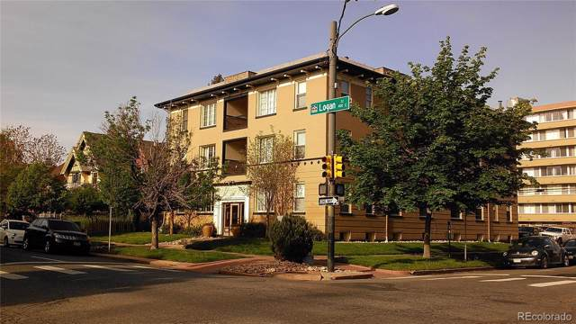 1167 N Logan Street #11, Denver, CO 80203 (#4486358) :: HomePopper