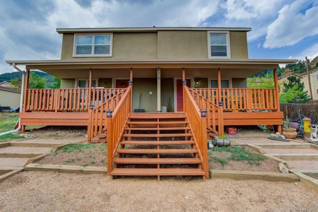 270 Upper Glenway Road, Palmer Lake, CO 80133 (#4489700) :: The Griffith Home Team