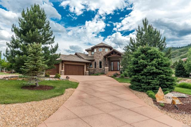 11190 Rock Wren, Littleton, CO 80125 (#4492477) :: James Crocker Team