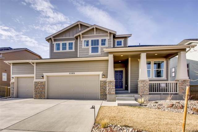 27220 E Davies Place, Aurora, CO 80016 (MLS #4492526) :: 8z Real Estate