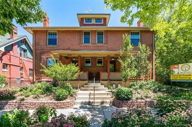1642 N York Street, Denver, CO 80206 (MLS #4494528) :: Neuhaus Real Estate, Inc.