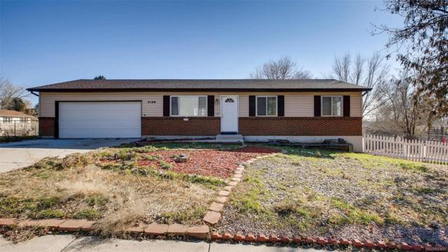 3155 El Canto Drive, Colorado Springs, CO 80918 (#4496497) :: 5281 Exclusive Homes Realty