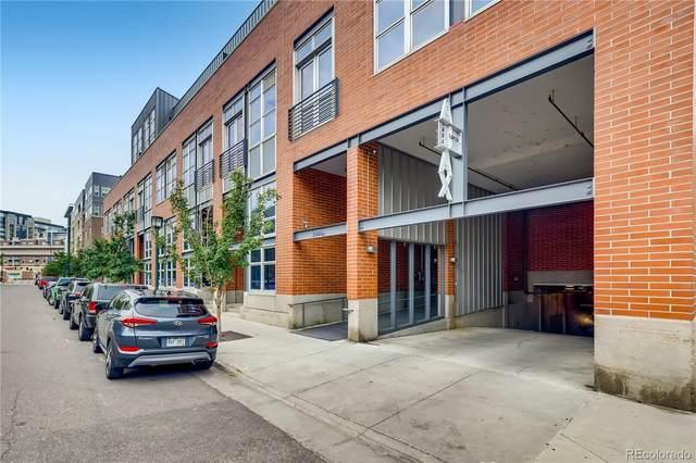 2955 Inca Street 3G, Denver, CO 80202 (#4496531) :: The Artisan Group at Keller Williams Premier Realty