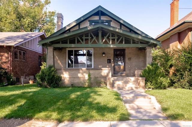 419 N Pennsylvania Street, Denver, CO 80203 (MLS #4500409) :: 8z Real Estate